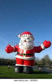 Cheap Inflatable Christmas Decorations Uk by Blow Up Santa Stock Photos U0026 Blow Up Santa Stock Images Alamy