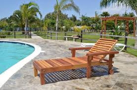 pool chaise lounge chaise loungers forever redwood