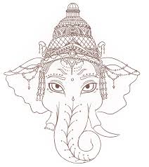 ganesh tattoo design by inkybooth on deviantart