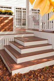 Corner Deck Stairs Design Best Deck Stair Design All Images Content Are Copyright