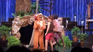 jungle book kids winter garden theatre youtube