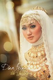 tutorial hijab syar i untuk pengantin model busana muslim modern untuk pengantin wanita busana muslim