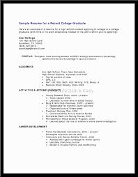 Resume Work Experience Examples For Customer Service by Resume With No Work Experience Example College