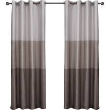 Drapes With Grommets Latitude Run Newton Striped Semi Sheer Grommet Curtain Panels