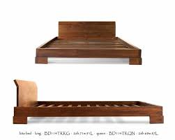 Making A Platform Bed by Best 25 Asian Platform Beds Ideas On Pinterest Asian Bed Frames