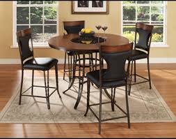 Counter Height Dining Room Table by Ultimate Accents Dynasty 5 Piece Counter Height Dining Set