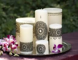 bougie hennã mariage cadeau pour mes invités le soir du henné