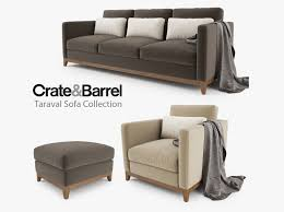 sofas crate and barrel leather sectional sofa