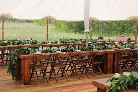 wedding table rentals treasure chest relic rustic rentals llc event rentals new