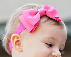 baby bow boutique baby headband xl bowtie headband bow any color baby bow