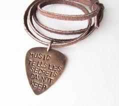 Engraved Guitar Pick Necklace 18 Best Guitar Pick Necklaces Images On Pinterest Guitar Pick