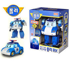 robocar poli rx rc car poli light song police car radio control