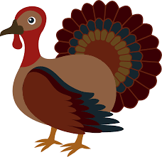 thanksgiving clipart turkey bird pencil and in color