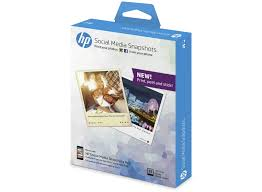 hp social media snapshots removable sticky photo paper 25 sht 10 x