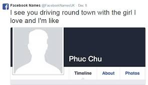 Meme Account Names - tweets turning facebook names into song lyrics are hilarious smosh