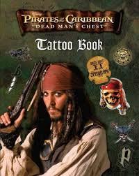 disney pirates caribbean tattoo book parragon
