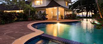 hawaii villas luxury beach homes for rent