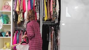 dulce candy u0027s closet organizing my clothes youtube