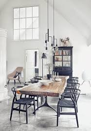 Industrial Style Dining Room Tables The 25 Best Dining Rooms Ideas On Pinterest Dining Room Light