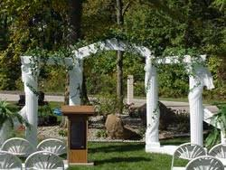wedding arches michigan weddings mutton party and tent rental serving indiana ohio