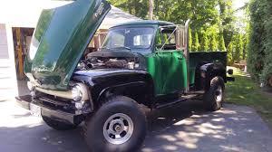 Classic Ford Diesel Truck - 1955 ford f250 4x4 custon diesel walk around for sale youtube