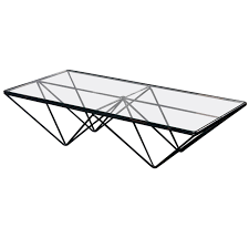 italian modern coffee table in the style of paolo piva 1980s at