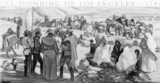 Ethnic Map Of Los Angeles by Happy Birthday Los Angeles But Is The Story Of The City U0027s