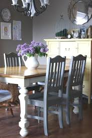 diy dining table makeover image of diy painted dining room table