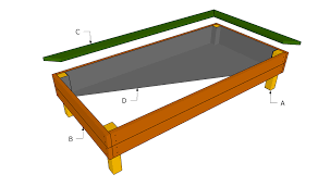 interesting elevated garden bed plans c to inspiration decorating