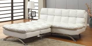 Sleeper Sofa Modern Design White Faux Leather Sleeper Sofa Modern Design 2018 2019