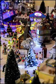 Christmas Town Decorations Christmas Village U2013 This Price Is Usually Right