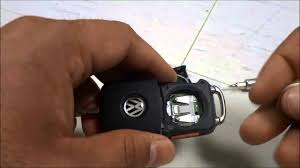 how to replace a vw jetta key fob battery new key fob 2010 2015
