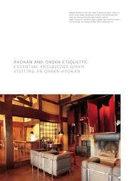 K Hen Angebote Ryokan Japan U0027s Finest Spas And Inns Japan U0027s Finest Traditional