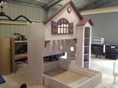 Doll House Bunk Bed Doll House Loft Bunk Bed The Bed Slides From Under The Study