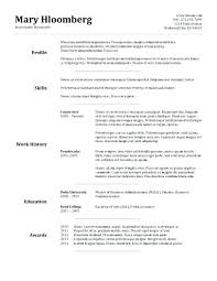easy resume template free download easy resumes templates best resume template word resume templates