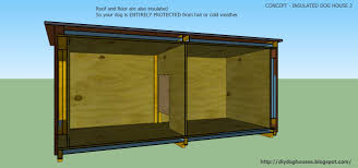 dog house plans concept insulated dog house 2 from concept insulated dog house 2