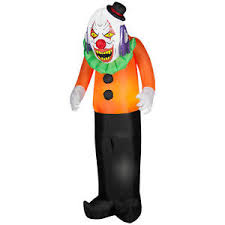 clown sightings u0026 halloween inflatable decorations