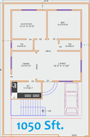 30x40 house floor plans 2 bhk independent house plans in india