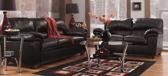 Living Room Set Ashley Furniture Buy Ashley Furniture 6450038 6450035 Set Commando Black Living