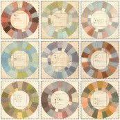 amazon com hal reed u0027s analogous color wheel dominant hue u0026 it u0027s
