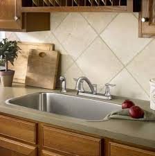 Low Arc Kitchen Faucet by Standard Plumbing Supply Product Moen 87302 Solidad Two Handle