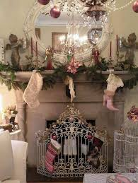 191 best pink white chic romantic christmas decor images on