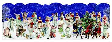 advent calendar card 4 victorian designs to choose from