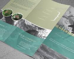 brochure design on envato studio