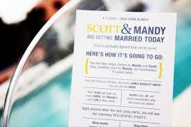 wording on wedding programs program wording weddingbee