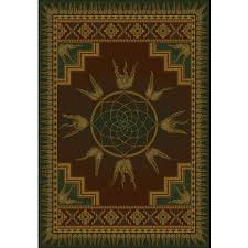 Area Rugs Southwestern Style Rugs For Cabins U0026 Lodges Rustic Area Rugs Wildlife Themes