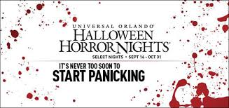 Family Packages 2016 Horror Nights 26 Hotel Ticket Package Universal