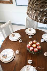 Simple Thanksgiving Table Settings Our Simple Thanksgiving Table Setting Designer Trapped In A