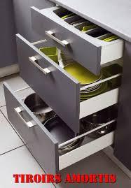 coulisse tiroir cuisine cuisine with coulisse tiroir brico depot meuble bas cuisine avec