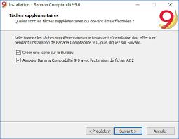 installer sur le bureau installer sous windows banana accounting software